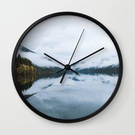 Lake Crescent Wall Clock