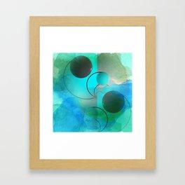 geometrical still-life -2- new upload Framed Art Print