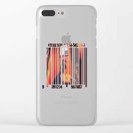 Bar Codes Clear iPhone Case