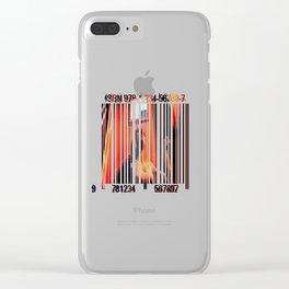 Bar Codes Clear iPhone Case