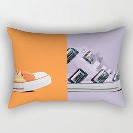 Retro on Retro Rectangular Pillow