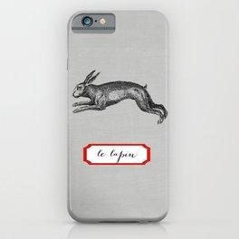 le lapin iPhone Case