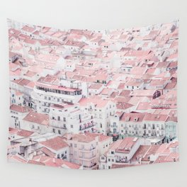 Urban View Wall Tapestry