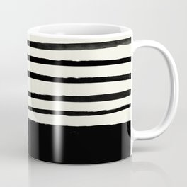 Black x Stripes Coffee Mug