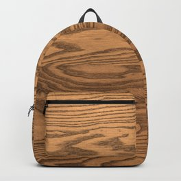 Wood 5, heavily grained wood Horizontal grain Backpack