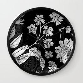 Porcelan Posies Wall Clock