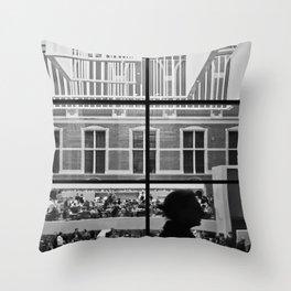 Amsterdam Window Throw Pillow