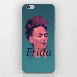 Frida Kahlo - History of Art iPhone Skin