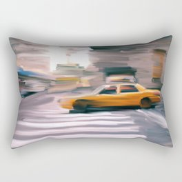 Taxi Cab. Rectangular Pillow