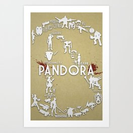 Welcome to Pandora Art Print