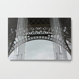 Structured ornamentation Metal Print