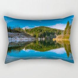 Autumn meets winter Rectangular Pillow