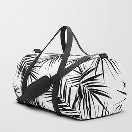 Palm Leaves Cali Finesse #3 #BlackWhite #tropical #decor #art #society6 Duffle Bag