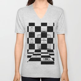 No 5 Chess Unisex V-Neck