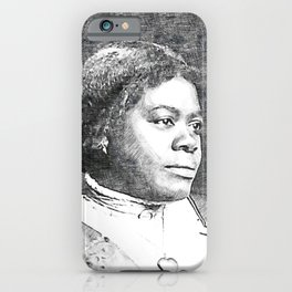 Mary Jane McLeod Bethune - SketchArt - American Educator Society6 Online Artworks 4432 iPhone Case