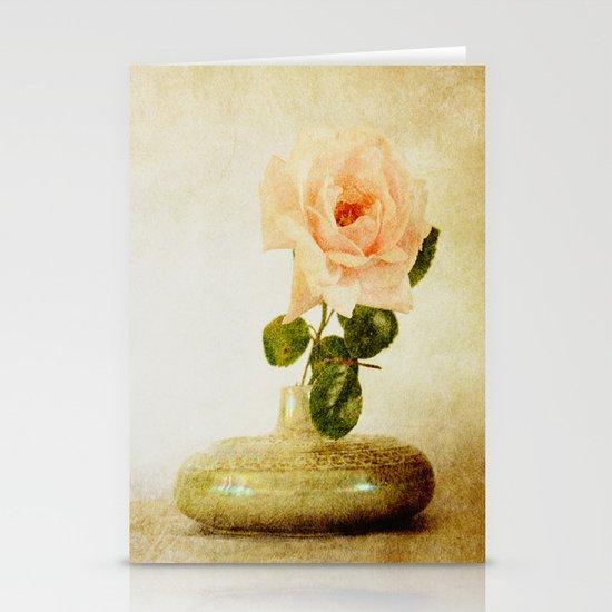 Vintage Rose  - JUSTART © Stationery Cards