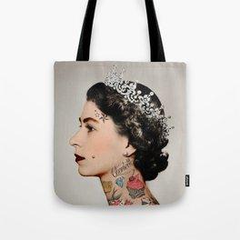 Tattoo #queen Tote Bag