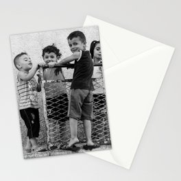 Just kids playing Stationery Cards