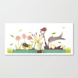 Allotment Canvas Print