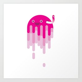 Jelly and Co. Art Print