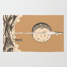 Rocket Moon Rug