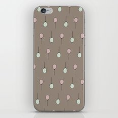 Balloons on Taupe iPhone & iPod Skin