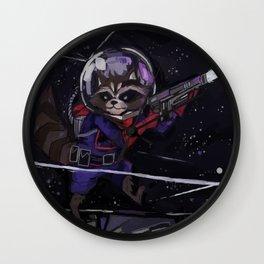 Rocket Raccoon  Wall Clock