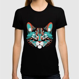 Cubist Cat T-shirt