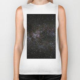 Milky Way Stars Biker Tank