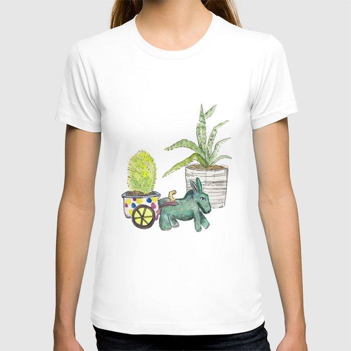 Donkey Cactus T-shirt