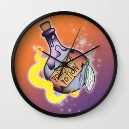 Polyjuice Potion Wall Clock