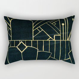 Art deco Rectangular Pillow