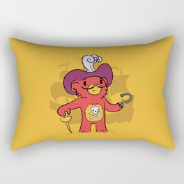 Captain Bear Hook Rectangular Pillow