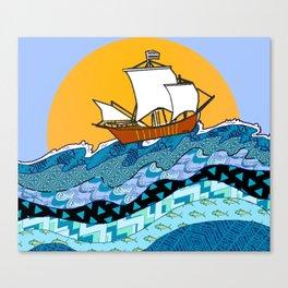 Sailing the High Seas Canvas Print