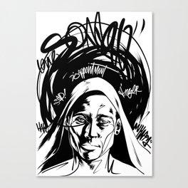 Sorrow Concept Canvas Print