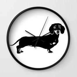 Dachhund Dog Wall Clock