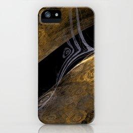 Gold Trap iPhone Case