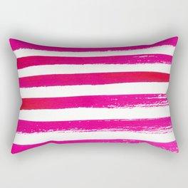WATERCOLOR STRIPES Rectangular Pillow