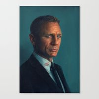 bond Canvas Prints featuring Bond by Sam Spratt