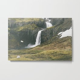 Not a bad spot to pitch a tent (landscape) Metal Print