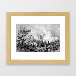 Battle of Gettysburg Framed Art Print