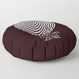 The Twilight Zone Floor Pillow