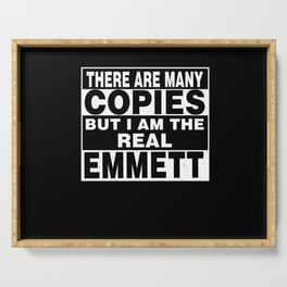 I Am Emmett Funny Personal Personalized Fun Serving Tray