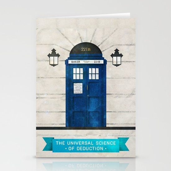 Doctor Who & Sherlock Stationery Cards