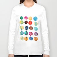 planets Long Sleeve T-shirts featuring Planets by Mille Dørge