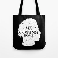 Halloween is Coming Tote Bag