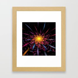 Hunka' Burnin' Love Framed Art Print