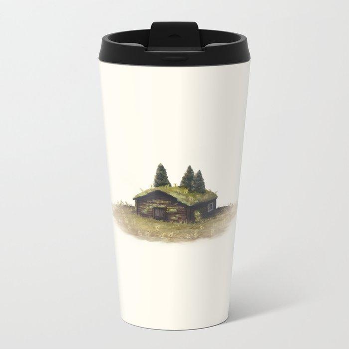Overgrown - Cabin Metal Travel Mug