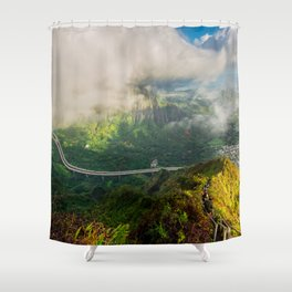 Stairway to Heaven, Hawaii Shower Curtain