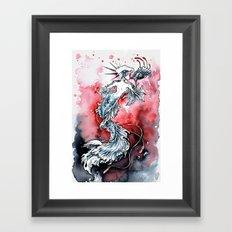 Mermaid Riot Framed Art Print